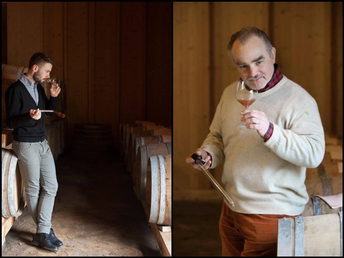 Mitja e Josko Sirk (ph. Orazio Pugliese e Stefano Scatà)
